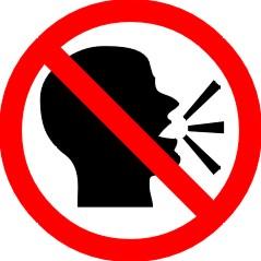 É proibido profetizar ou falar em linguas