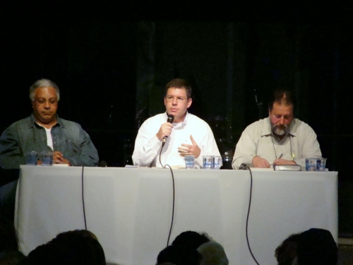 Ariovaldo Ramos, Ed René Kivitz e Ricardo Gouvêa